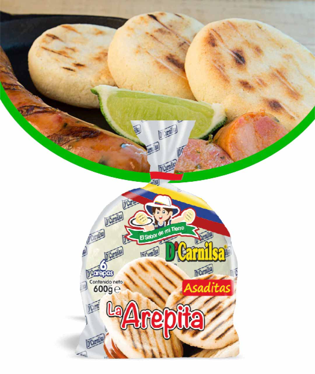 Arepas-Dcarnilsa
